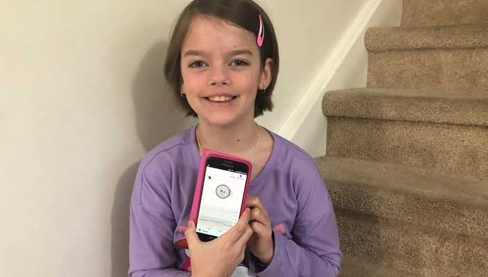 Child with Type 1 Diabetes T1D Dad Dexcom CGM